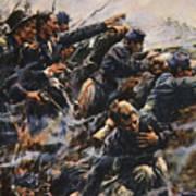 High Tide At Gettysburg Poster