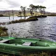 Highland Loch Poster