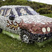 Highland Stoneware Car Poster