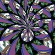 Highrise Kaleidoscope Poster
