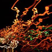 Highway Lights I Poster