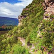 Hike Up Mt Iron Wanaka New Zealand Poster