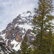 Hiking To Taggart Lake Poster