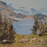 Hiking Yosemite Poster