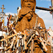 Hill Of Crosses Lithuania Poster