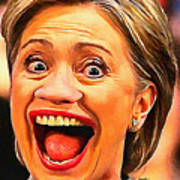 Hillary Clinton Poster
