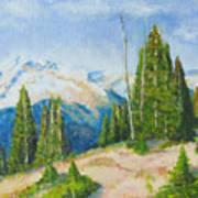 Hillside In Spring, 9x12, Oil, '07 Poster