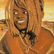 Himba Girl Poster