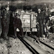 Hine: Coal Miners, 1911 Poster