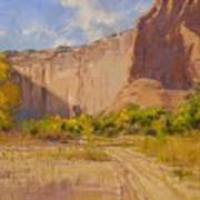 Hint Of Autumn Canyon De Chelly Poster