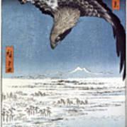Hiroshige: Edo/eagle, 1857 Poster