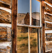 Historic Bannack Mining Reflections Poster