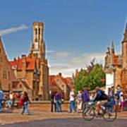 Historic Bruges Poster
