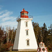 Historic Cape Bear Lighthouse, Pei Poster