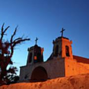 Historic Chiu Chiu Church Chile Poster