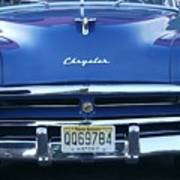 Historic Chrysler Front End 2 Poster