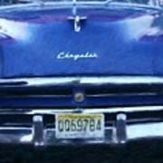 Historic Chrysler Front End Poster