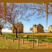 Fort Hancock Sandy Hook Nj In Spring  Poster