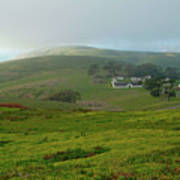 Historic Pierce Point Ranch In Point Reyes Poster