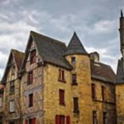 Historic Sarlat - La - Caneda France Poster