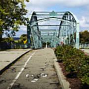 Historic South Washington St. Bridge Binghamton Ny Poster