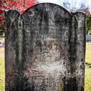 Historic Stone - Quaker Cemetery Poster