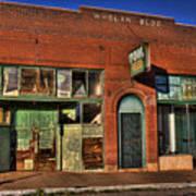 Historic Storefront In Bisbee Poster
