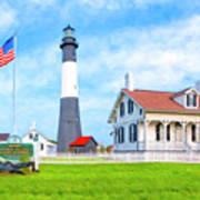 Historic Tybee Island Light Station Poster