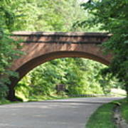 Historical Stone Arched Bridge Poster