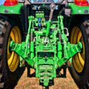 Hitch A Deere  Poster