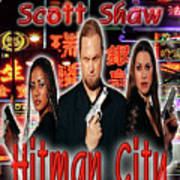 Hitman City Poster by The Scott Shaw Poster Gallery