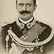 H.m. Victor Emmanuel IIi Of Italy Poster