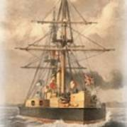 Hms Inflexible Poster