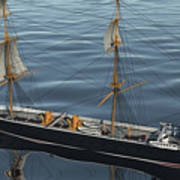 Hms Warrior 1860 - Stern To Bow Ocean Poster