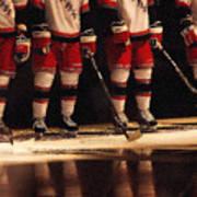 Hockey Reflection Poster