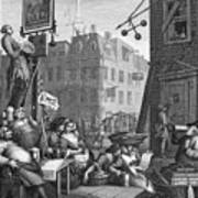 Hogarth: Beer Street Poster