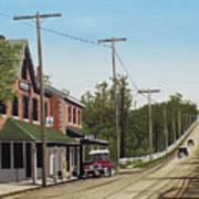 Hoggs Hollow Toronto 1920 Poster