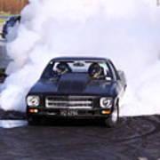 Holden Doing Burnout Poster