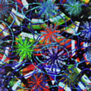 Holiday Abstract  Poster