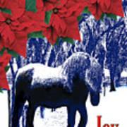Holiday Joy Card Poster