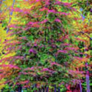 Holly Jolly Tree Poster