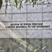 Holocaust Museum Of Jewish Heritage Ny Poster