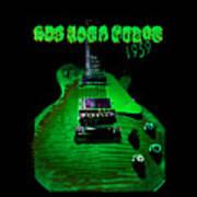 Holy Grail 1959 Retro Relic Guitar Poster
