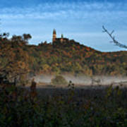 Holy Hill In Fall Poster