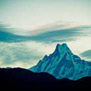 Holy Mount Fish Tail Machhapuchare 6998 M Poster