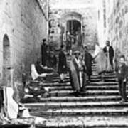 Holy Sepulchre Stairs Poster