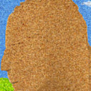Homage To Seurat In Carpet Poster by Andy  Mercer