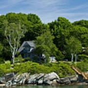 Home On Little Diamond Island Poster