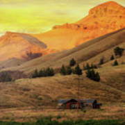 Home On The Range In Antelope Oregon Poster
