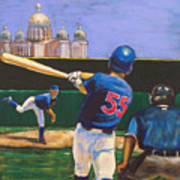 Home Run Poster by Buffalo Bonker